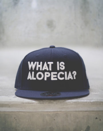 What is Alopecia? Snapback (Navy Blue)